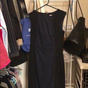 Banana Republic Dresses - Banana republic blue black dress